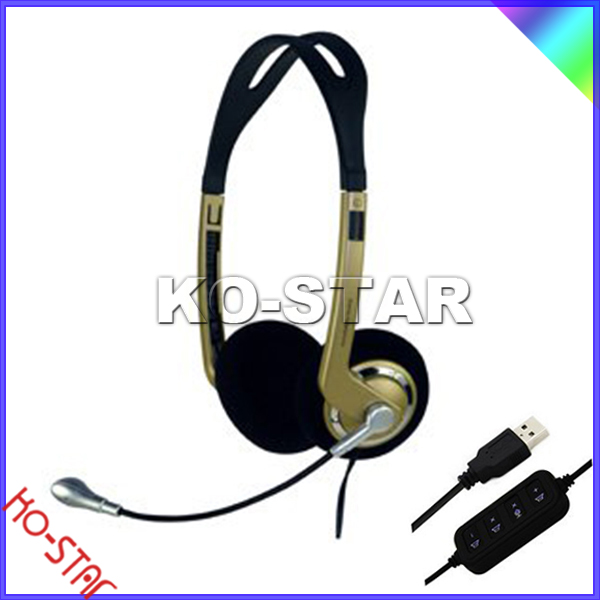 New design USB wifi gaming headphones review from shenzhen factory