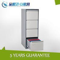 Lockable office cabinet vertical filing system