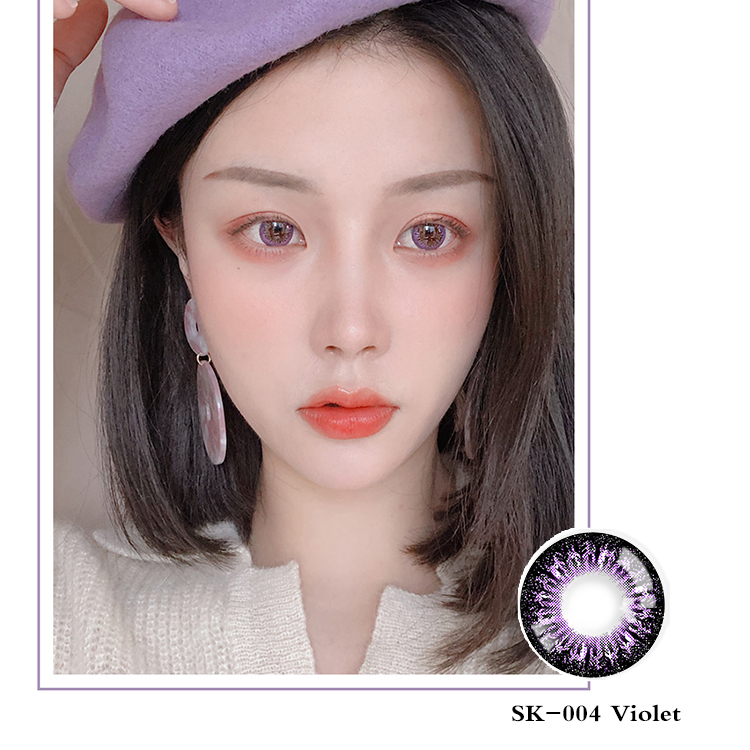Hot Sale contact lens Japan style color contact lenses