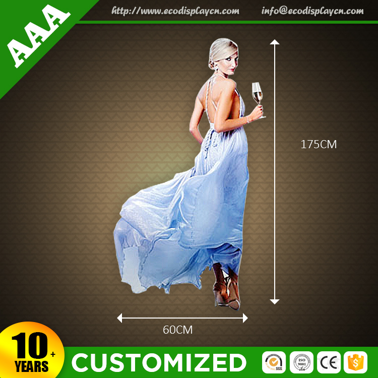 Supermarket Attractive Cardboard Display Standee For Skin Care Products