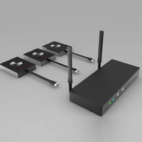 Wireless usb extender three transmitters and one receiver , switcher for image splitter