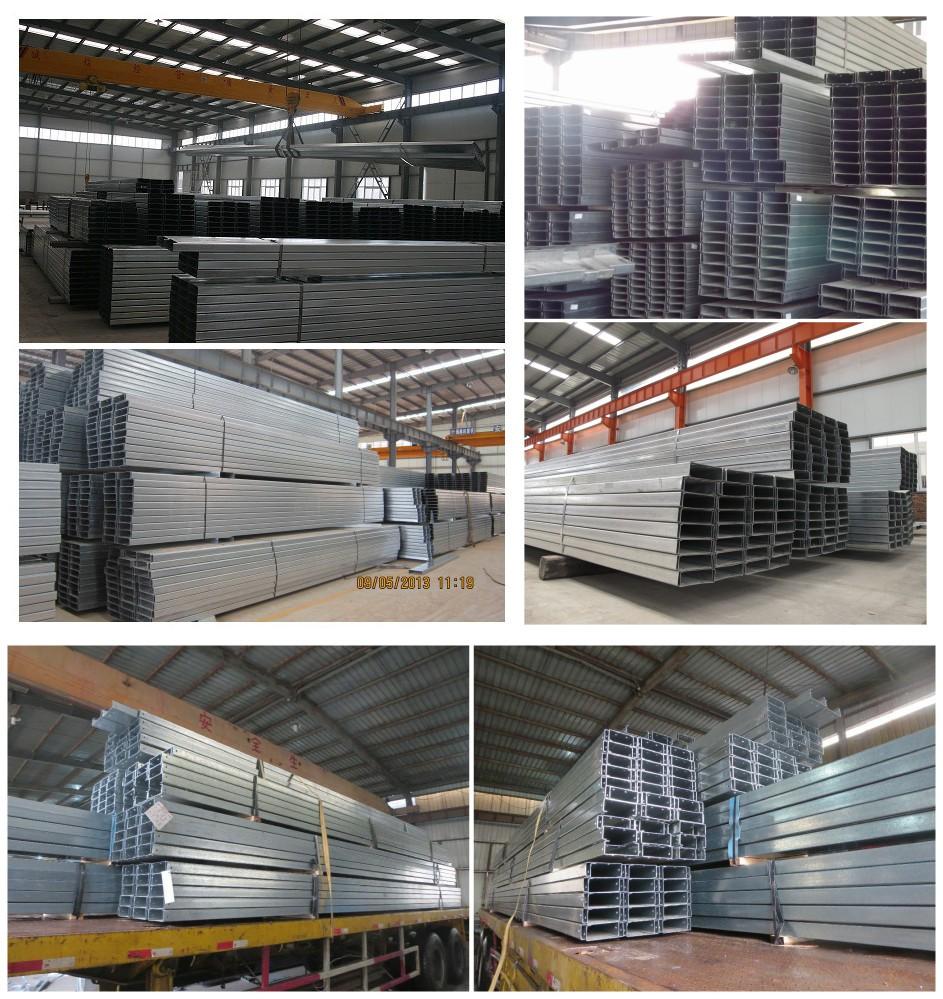 Ss400 Standard Stahl C Profil Kanal Eisen Größen Spezifikation ...