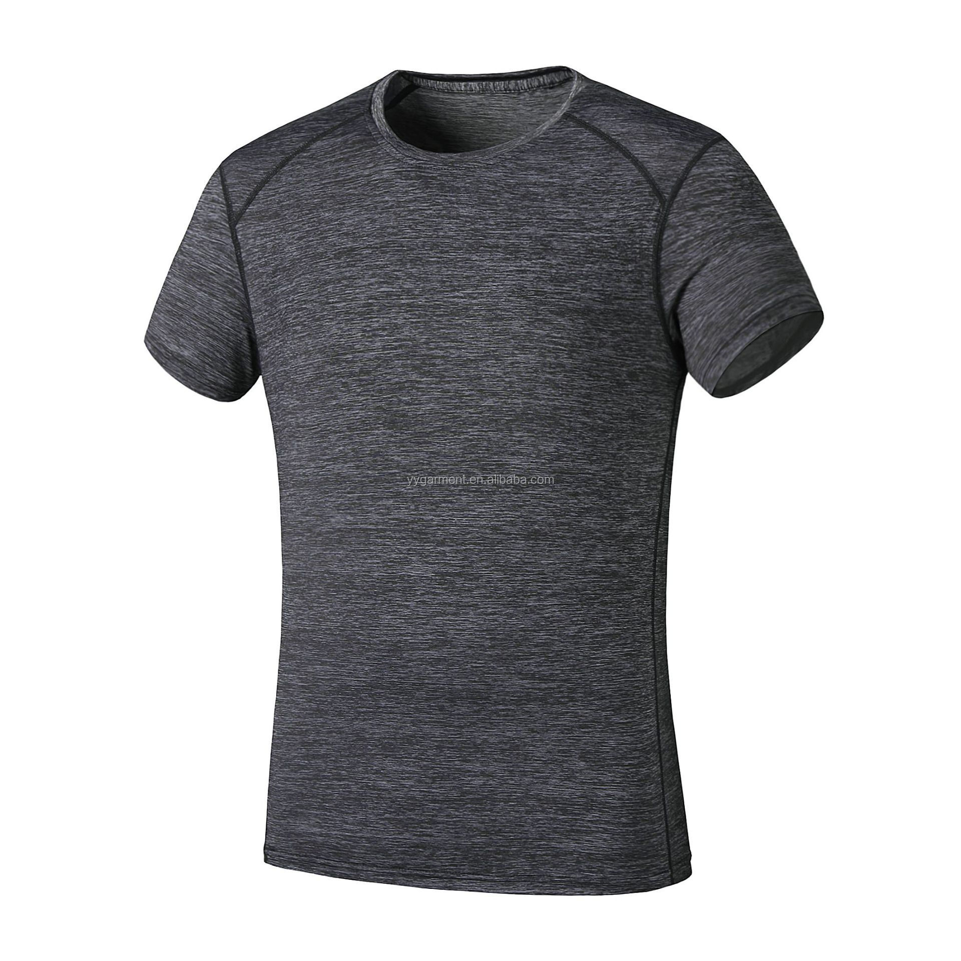 Wholesale Fitness Clothing Gym Wear Men Sports Tshirt