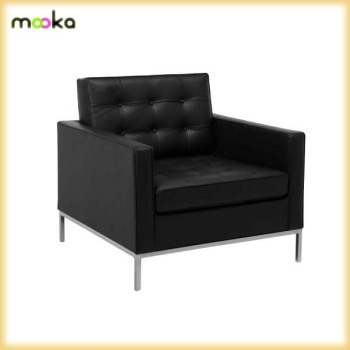 Beau Replica Leather Florence Knoll Sofa MKL04B1