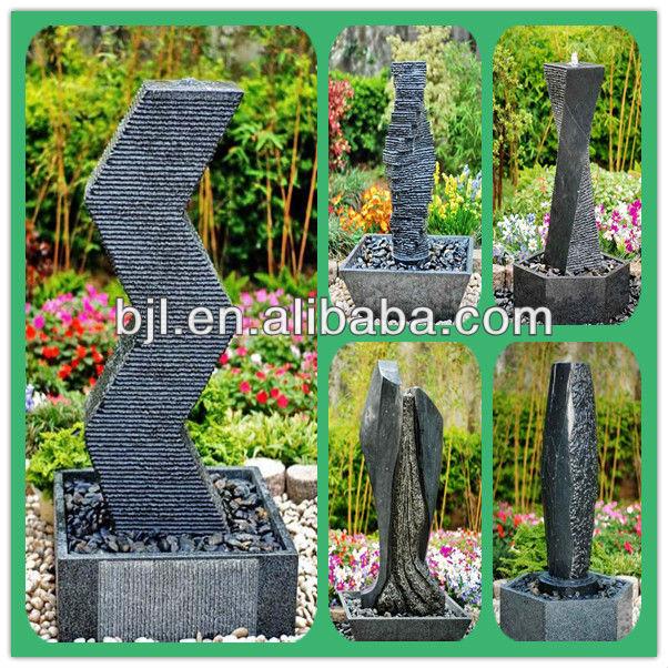 יפני גן אבן פנסי גדול אבן גן פסלי מים קיר