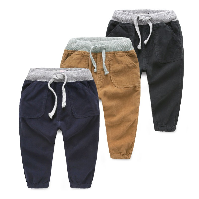 Manufacturers Infant New Style Boys Baby Icing Ruffle Military Pants