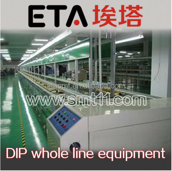 SMT Assembly Conveyor Belt Lines with Working Tables