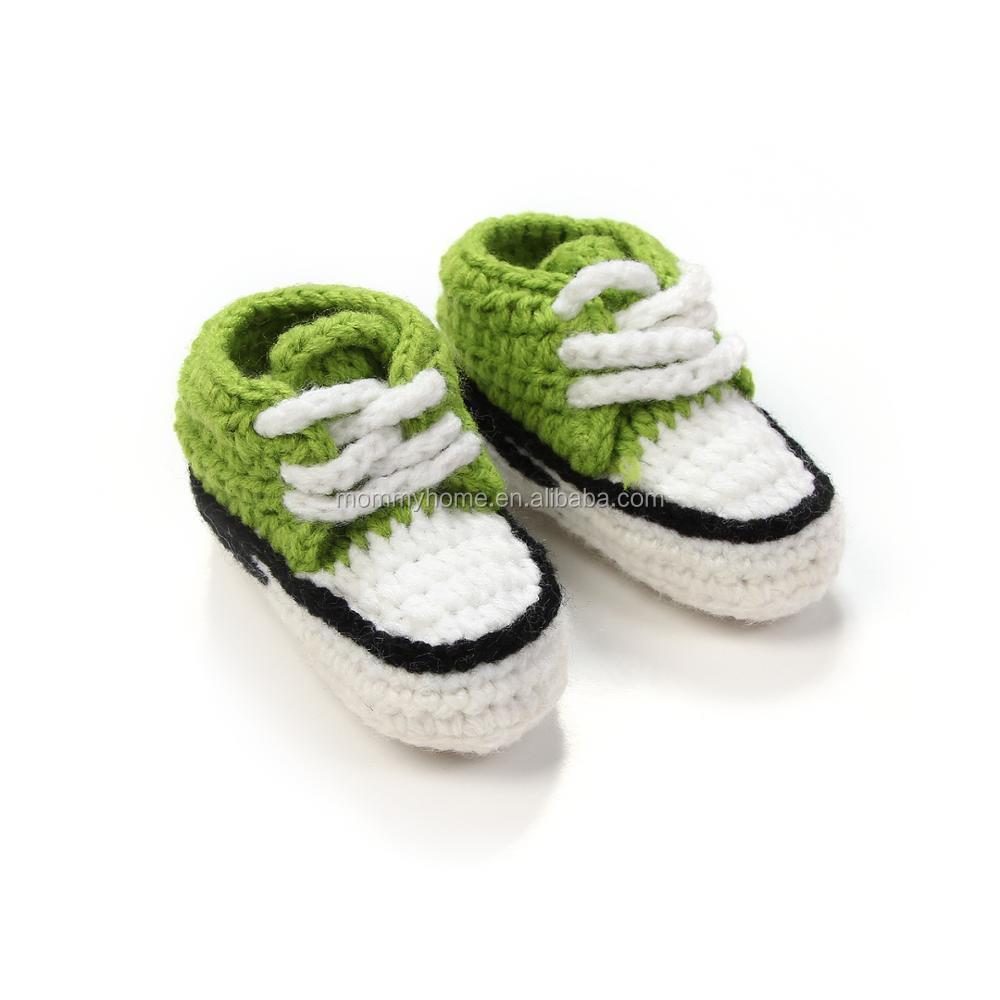 De Ganchillo Bebé Patrón Botines Zapatillas De Bebé Zapatos ...