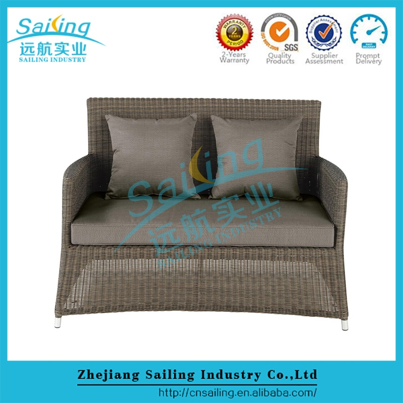 Easy Cleaning Hot Sell Garden 5 Peoples Seat Cheap Wicker Outdoor Rattan Furniture