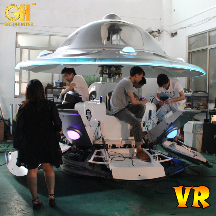 UFO Shape VR Products Unforgetable Experience Virtual Reality Oculus 9D Movie Theater