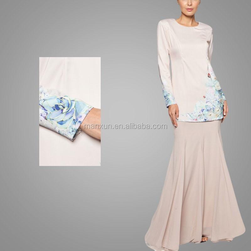 2016 Wholesale China Factory Latest Design Muslim Clothing
