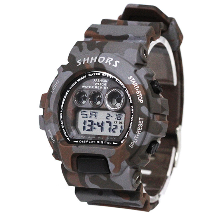 Watch Analog Digital Watch For New Silicone  Digital LED Army Military Sport Watch Chronograph Silicone Rubber Strap