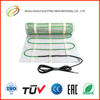 fluoropolymer electric radiant floor heating