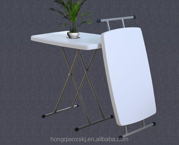 enfant r glable en hauteur mini table pliante en plastique pas cher pour ordinateur travail. Black Bedroom Furniture Sets. Home Design Ideas