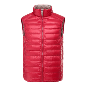 Quick dry popular winter nylon down vest