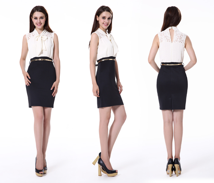 Pictures semi formal dresses ladies official dresses formal office ...