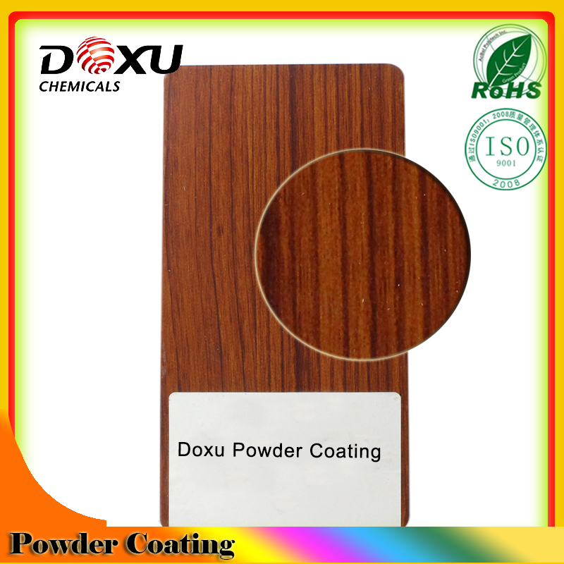 Matt Wooden Grain Texture Powder Coating