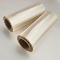 14mic PVDC Film Coated transparent pet film food grade plastic film roll