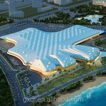 Hainan International Conference and Exhibition Center GFRC building project
