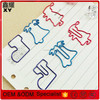 Best decorative gift Christmas shape paper clips OEM design