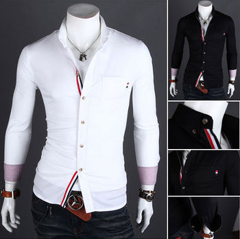 Design Clothes For Men | Wholesale Walson Wholesale Mens White Dress Shirts Latest Style