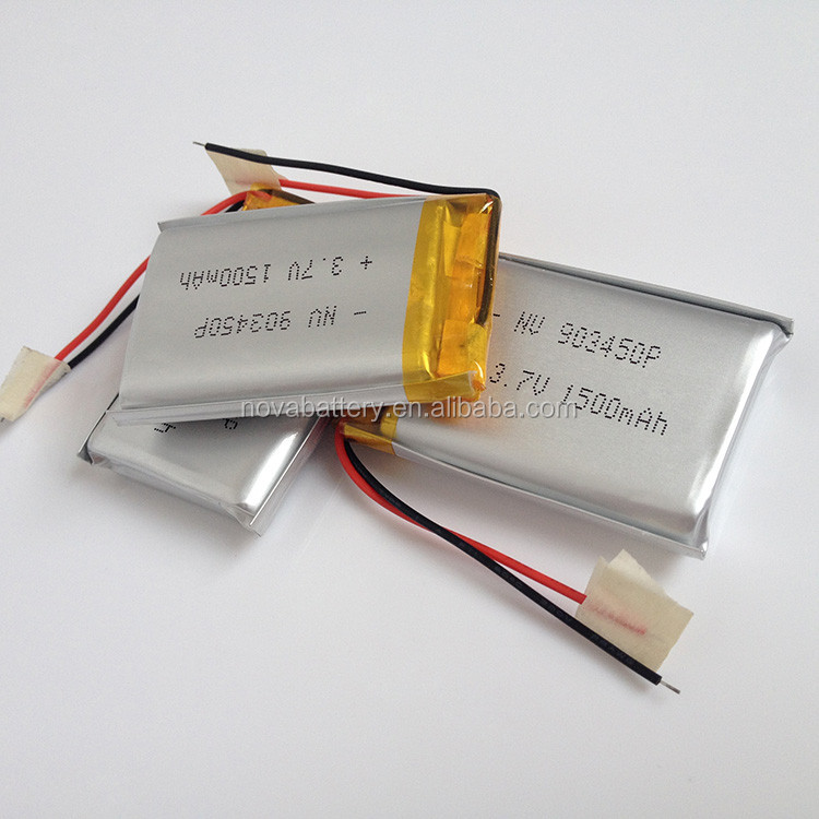903450 903462 Li-ion Polymer Battery 3.7v 7.4v 11.1v 1500mah ...