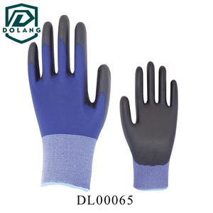 Free shipping Hot sale Wholesale Retail black pu work gloves size have S M L XL