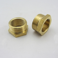 Stainless Steel or brass or steel female/male thread reducing bushing fittings