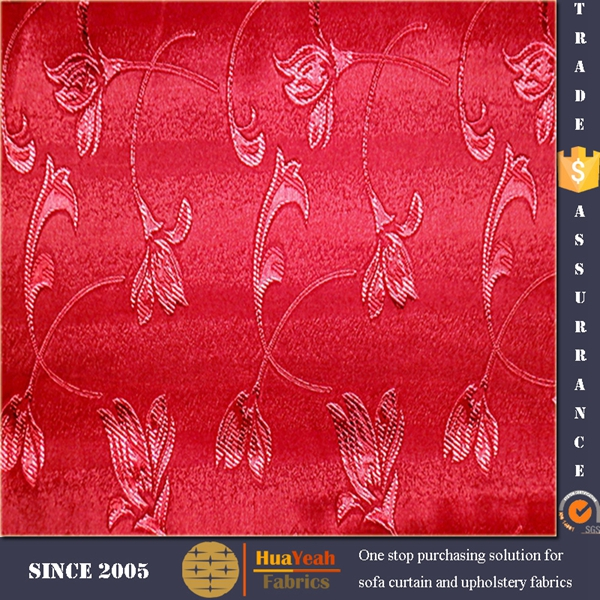 Home jacquard vertical blind blackout fabric material for curtains