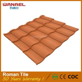 India Kerala 1.2M Low Cost Aluminium Curved Ceramic Metal Clay Roof Tiles