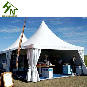 High Quality Square Shape 3x3,4x4,5x5,6x6 Aluminum Gazebo With Decorative