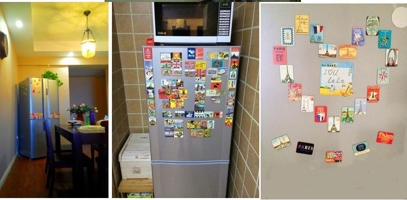 China Supply Personalized Refrigerator Magnet Custom Printed Paper ...