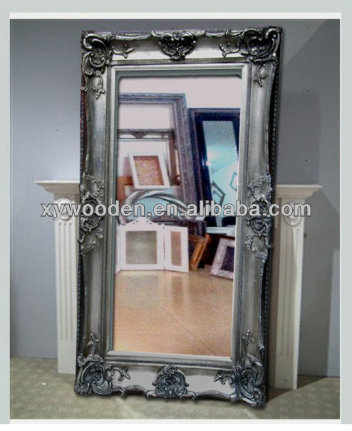 Vintage Antique Free Standing Mirror Safety Backed Mirror - Buy ...
