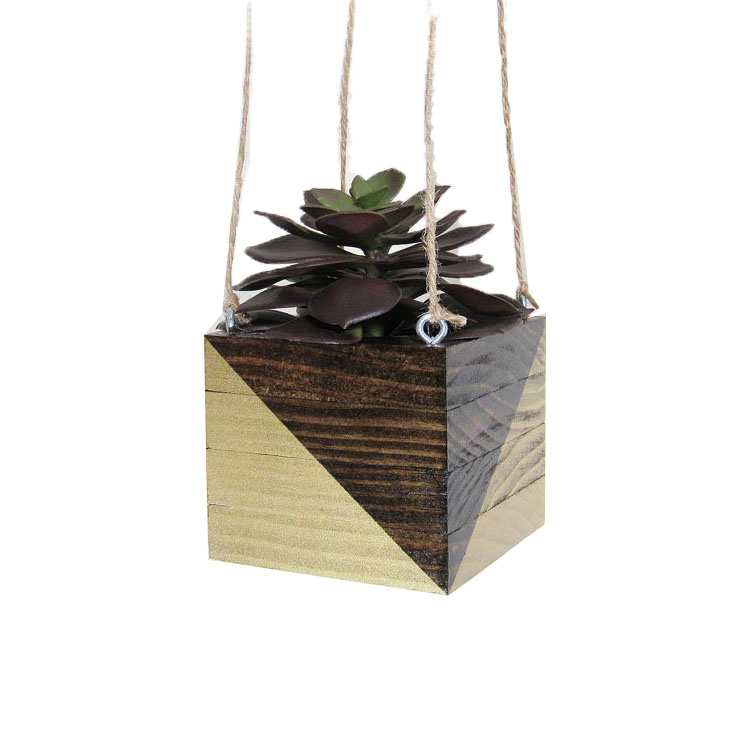 2018 New Design Wooden Hanging Plant Stand Plant Stand ... on Hanging Plants Stand Design  id=65137