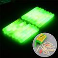 15X 20X Mini Fishing Fluorescent Light Stick Night Float Glow Fishing Floats Fishing Tackle Tube Indicator