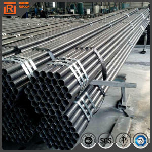 BIG black tube,china manufacturers big black stocking tube/pipes,carbon black steel piping