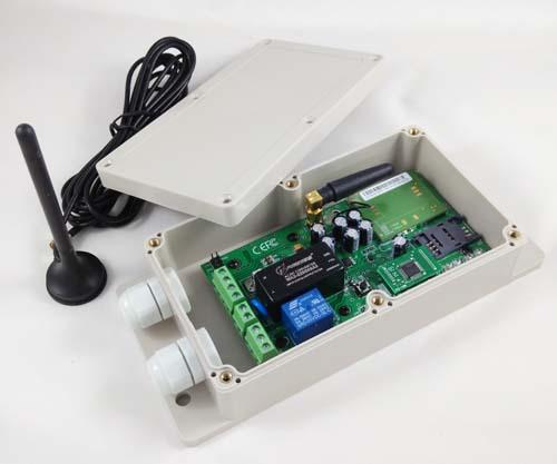 Gsm Automatic Door Opener / Wifi-plug Inside For Remote Program ...