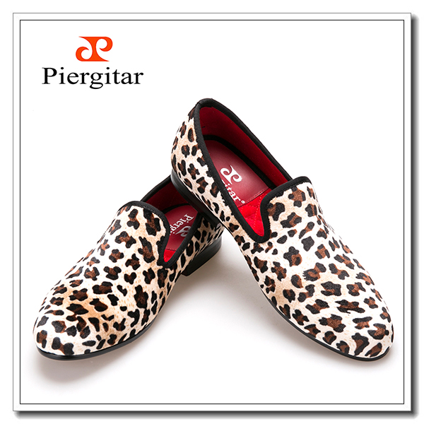 Shoes Formal Shoes Velvet Men Leopard wnSxZqHvH