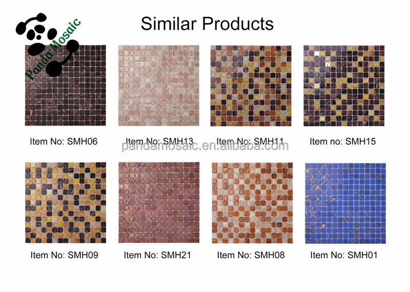 smh15 mosaic pattern decorative floor tile dubai swimming pool glass tiles luxury hotel decorate mosaics - Glass Sheet Hotel Decorating