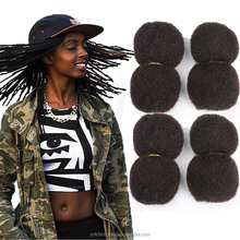 Tight Afro Kinky Bulk Hair 100% Human Hair For DreadLocks,Twist Braids 4pieces/Packs