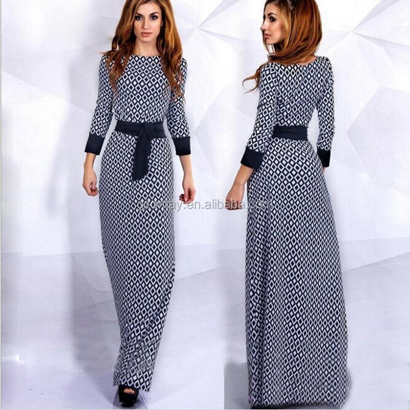 Xl Wholesale Ladies Arabic Muslim Casual Rayon Spandex Long Sleeve ...