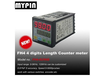 Mypin 24V DC battery power 1/8 din Counter Meter(model:FH8E-6CRRB)