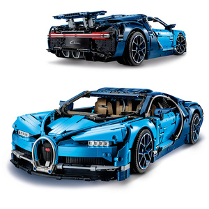 Race Car Technic Series Bugattied Chiron Building Blocks Compatible Legoed Technic Super Vyreoned Car Toys For Friends Kids Gift