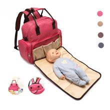 Fashionable baby diaper bag, multi and traveling woollen cloth tote diaper bags mummy baby bag