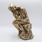 Polyresin Thinker crafts sculpture, Resin Unique Thinker Home Decor Statue