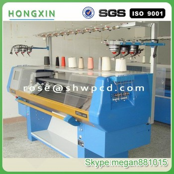 Semi Automatic Computized Flat Bed Knitting Machine Needle With Low