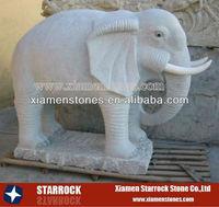 Stone Elephant Carvings