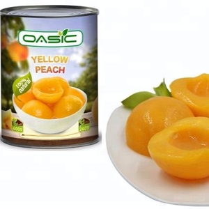 Wholesale Fruit Tinned Light Syrup Canned Yellow Peach