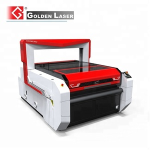 Vision Flying Scan Laser Cutter for Sublimation Printed Ice Hockey Jersey
