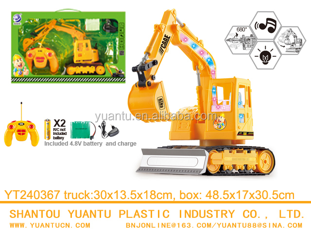 680 degree rotation Radio Control Professional Construction Excavator Toys